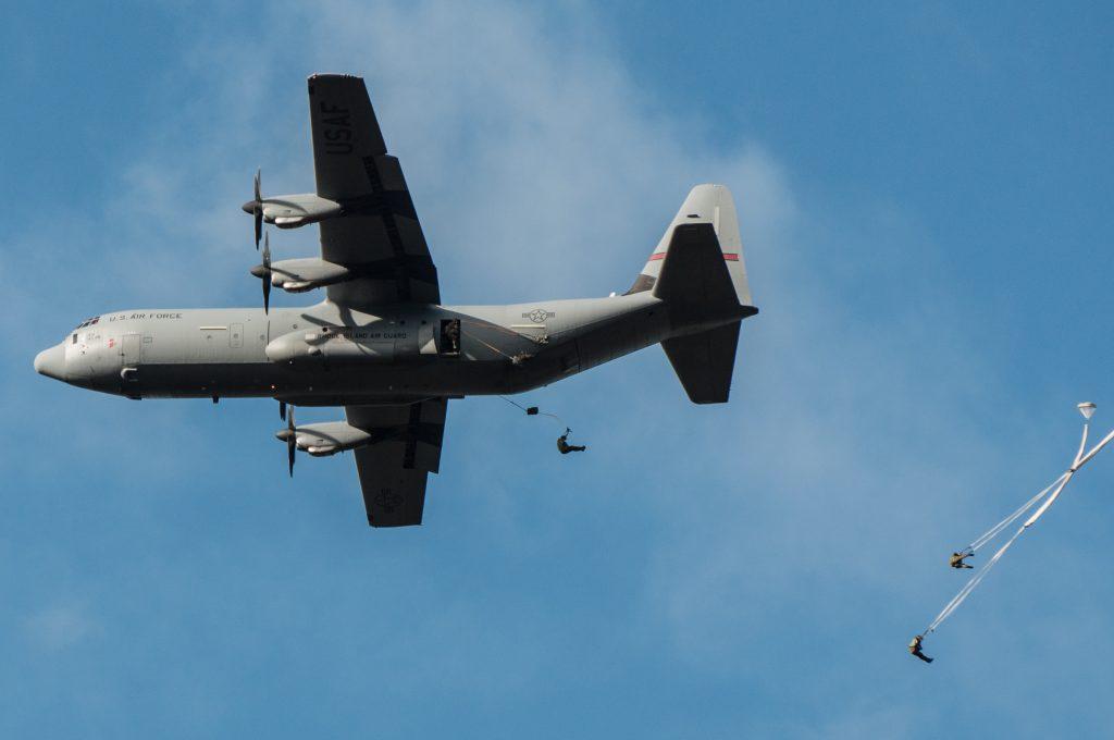 Herdenking van de Airborne-landingen