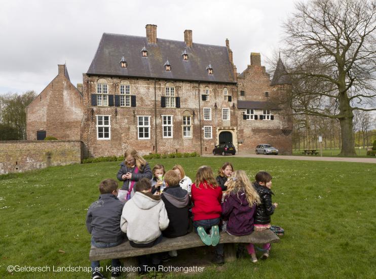 Reizen in de Tijd Kasteel Hernen|Kinderen Reizen in de Tijd in Museum Valkhof