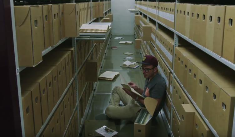 Rens in het archief