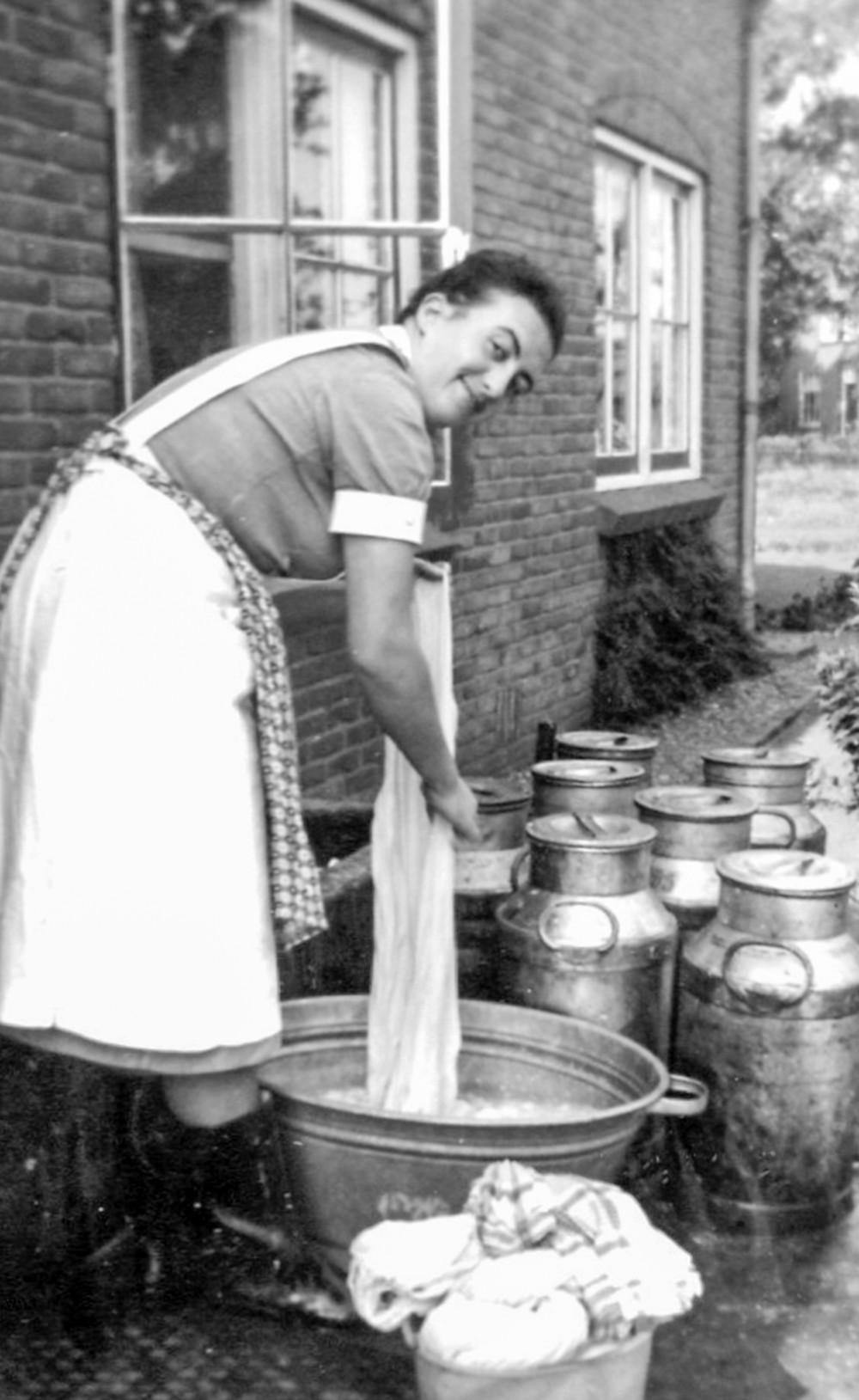 Wasdag op een boerderij, Annie Braakhekke